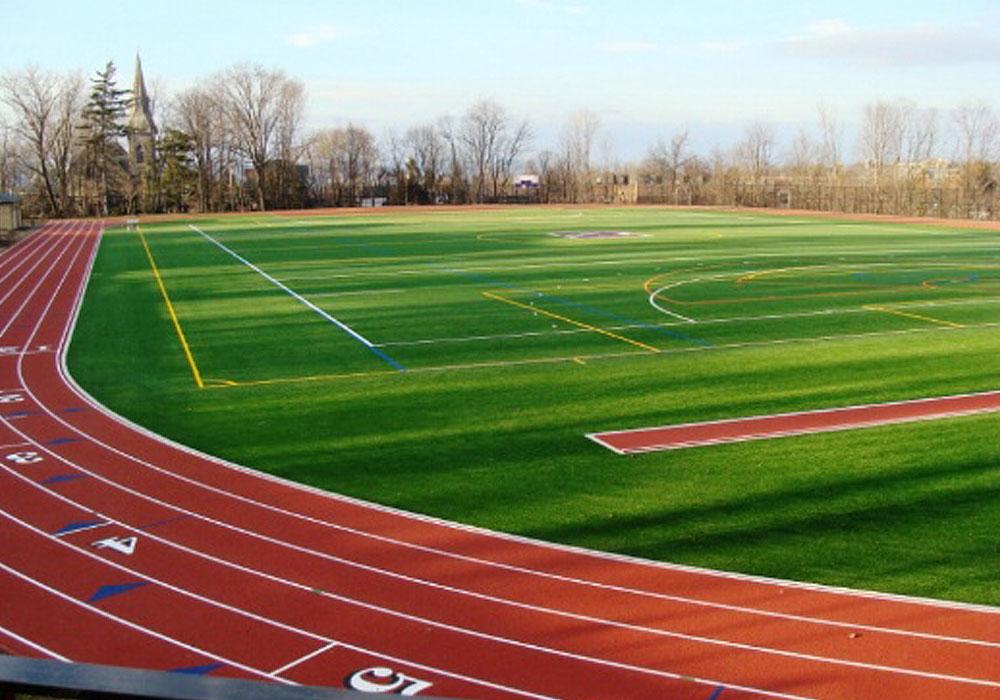 Football Field Construction Derosa Sports Mamaroneck Ny